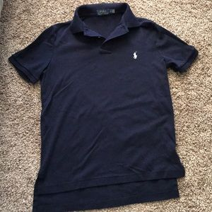 Men's Soft Touch Navy Blue Polo